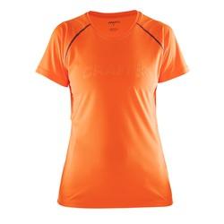 Футболка Craft Prime Run жен оранж/фиолет