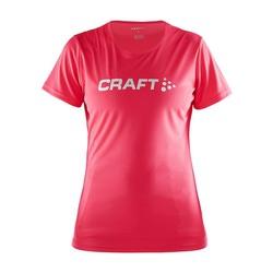 Футболка Craft W Prime Run Logo женская ягода
