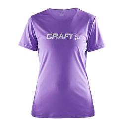 Футболка Craft W Prime Run Logo женская лиловый