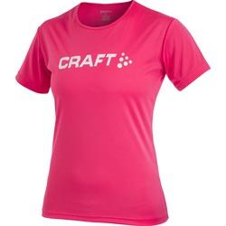 Футболка Craft Active Run Logo женская