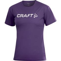 Футболка Craft Active Run Logo женская сиреневый