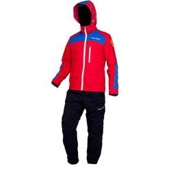 Ветрозащитный костюм Nordski красный