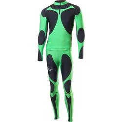 Комбинезон лыжный NordSki черн/зеленый