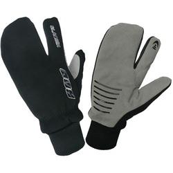 Перчатки 3-х палые KV+ XC Glecier чёрные