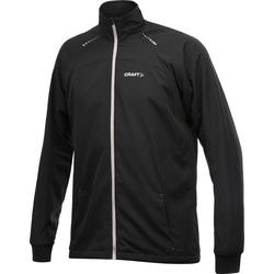 Разминочная куртка Craft M Touring мужская чёрный/серый