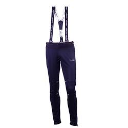 Разминочные штаны на лямках NordSki М Premium мужские черный