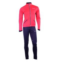 Разминочный костюм JR Nordski SoftShell красн/черн