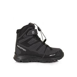 Ботинки трекинговые Salomon Synapse Winter детские черный