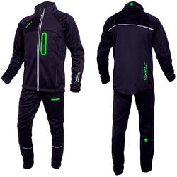 Разминочный костюм M Nordski SoftShell черн/зелен