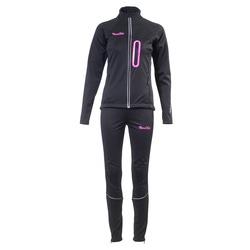 Разминочный костюм JR Nordski SoftShell черн-роз