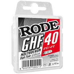 Парафин RODE высокофтор.+молибден 40 г. (0..-4)