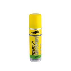 Мазь Toko Grip Line спрей, зелёная, базовая, 0°/-30°С, 70мл.