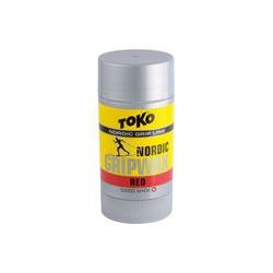 Мазь Toko Grip Wax твёрдая, красная, -2°/-10°С, 25г.