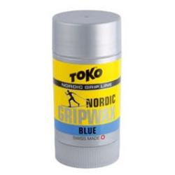 Мазь Toko Grip Wax твёрдая, синяя, -7°/-30°С, 25г.