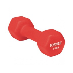 Гантель (неопрен) 4кг Torres
