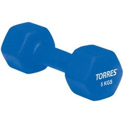 Гантель (неопрен) 5кг Torres