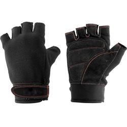 Перчатки тяжелоатлетические Torres чёрные
