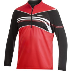 Велорубашка Craft Active Bike Longsleeve Jersey мужская чёрн/белый