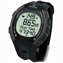 Часы спортивные Sigma RC-1209 Black