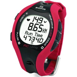 Часы спорт Sigma RC-1209 Red