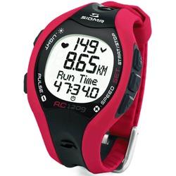 Часы Пульсометр Sigma RC-1209 Red