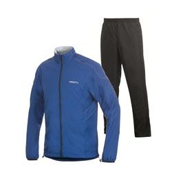 Костюм ветрозащитный Craft Active Run Wind мужской синий