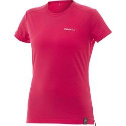 Футболка Craft W Active Run Training женская розовый