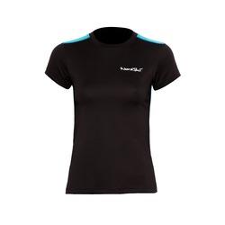 Футболка NordSki W Premium женская Black/Aquamarine