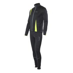 Разминочный костюм NordSki M SoftShell мужской черн/лайм