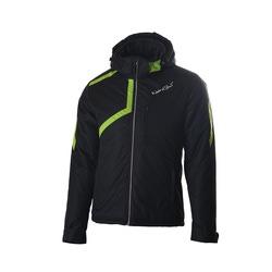 Утепленная куртка NordSki M Active мужская черн/зеленый