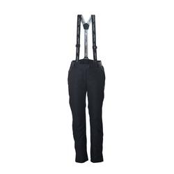 Утепленные штаны на лямках NordSki W Premium женские черный
