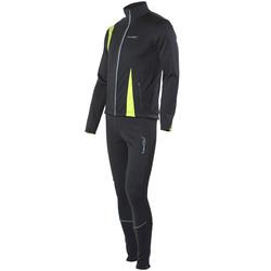 Разминочный костюм JR Nordski SoftShell черн/лайм