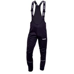 Разминочные штаны на лямках Jr Nordski Active черн