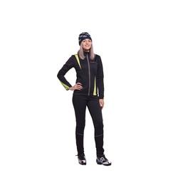 Разминочный костюм W Nordski SoftShell черн/лайм