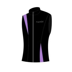 Жилет W Nordski SoftShell черн/фиолет
