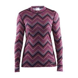 Термобелье Рубашка Craft W Mix&Match женская зигзаг