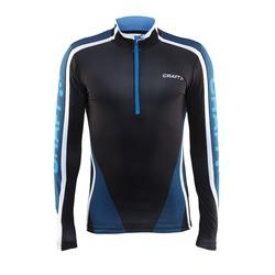 Рубашка Craft Race муж черн/голуб
