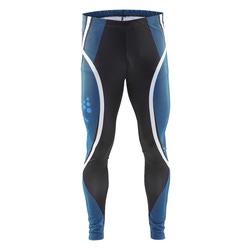 Комбинезон лыжный (Тайтсы) Craft Race мужские черн/голубой