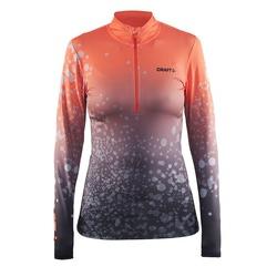 Комбинезон лыжный (Рубашка) Craft Race женская коралл принт