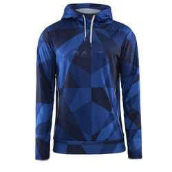 Толстовка Craft M Logo Hood мужская синий