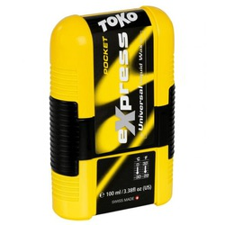 Жидкая смазка Toko Express Wax Pocket универс c аппликатором 0°/-30°С , 100мл