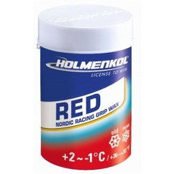 Мазь Holmenkol (+2-1) red 45г