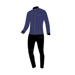Разминочный костюм JR Nordski Premium SoftShell Navy