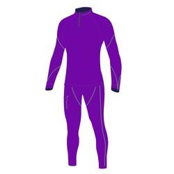 Комбинезон лыжный W Nordski Active фиолетовый