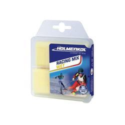 Парафин HOLMENKOL HF RacingMixWet (0..-4) 2*35г