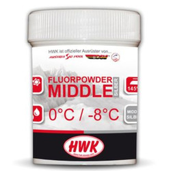 Порошок HWK Middle 2010 (0-8) silver 30г