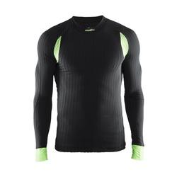 Термобелье Рубашка Craft M Active Extreme 2.0 мужская черн/салатовый