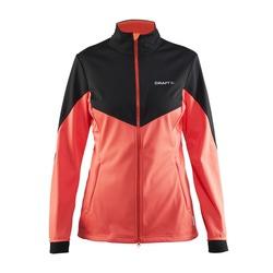 Разминочная куртка Craft W Voyage женская коралл