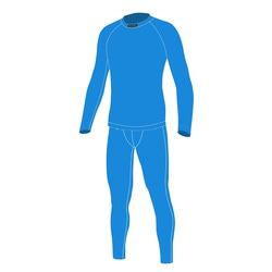 Термобелье Комплект NordSki M Warm мужской голубой