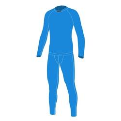 Термобелье Комплект NordSki JR Warm детский голубой